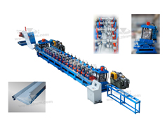 TF  Chicken feeding sections roll forming line