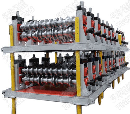Roof Panel Roll Forming Line