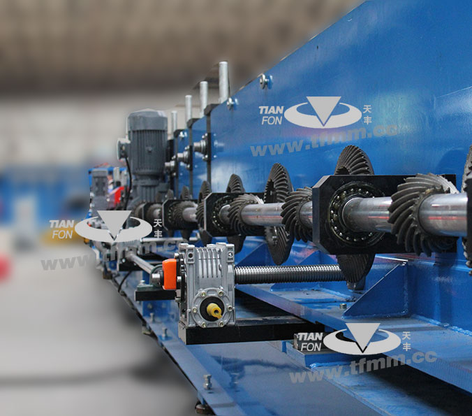 TF  cable bridge roll forming machine