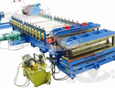 Baseplate Roll Forming Line