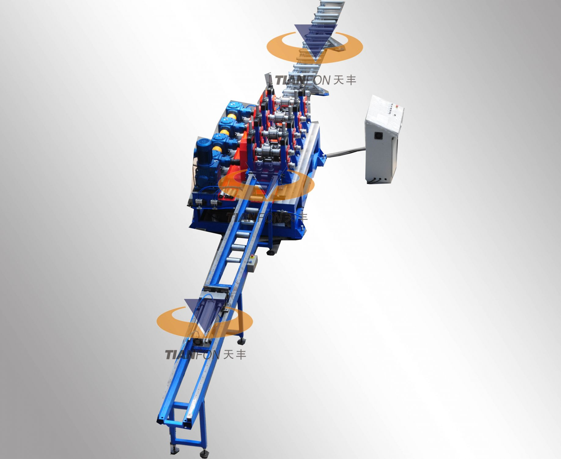 TF combination beam roll forming line