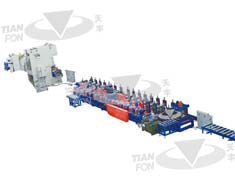 Decking Roll Forming Line