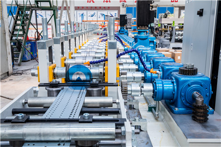 TF Power Cabinet Column Cold Roll Forming Production Line