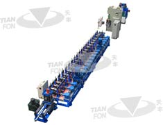 PV Bracket Roll Forming Line