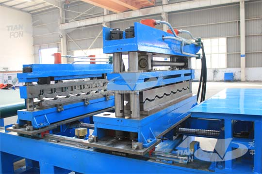 Glazed Tile Roll Forming Line