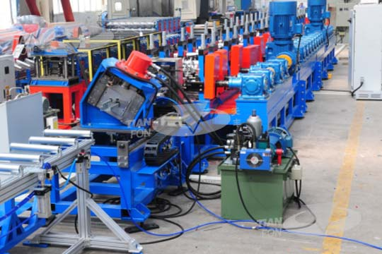 Shelf Pillar Roll Forming